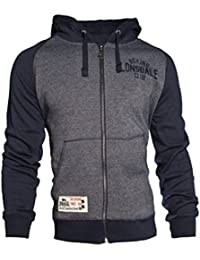 Lonsdale - Slough Men Hooded Zipsweat