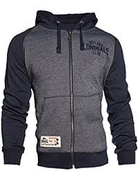 LonsdaleSweat zippé à capuche pour homme