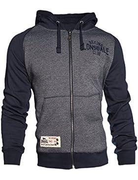 Lonsdale - Slough Men Hooded Zipsweat