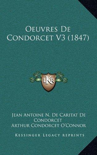 Oeuvres de Condorcet V3 (1847)