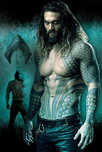 DC Universe Justice League Poster Aquaman (61cm x 91,5cm)