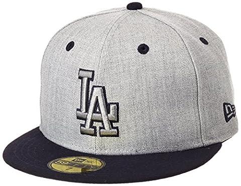 Casquette NEW ERA Top Dodgers de Los Angeles, Mixte, Cap Top Los Angeles Dodgers, Official Team Colour/ Heather Gray