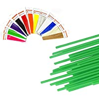 HuaForCity® 12st ABS Filament 3D-Druck-Feder-Multicolor Gerade Filaments für 3D-Drucker Pen - 10M 1,75 mm Durchmesser ABS Filament 12PCS ABS Filament 3D Printing Pen Multicolor Straight Filaments for 3D Printer Pen - 10M 1.75mm Diameter ABS Filament