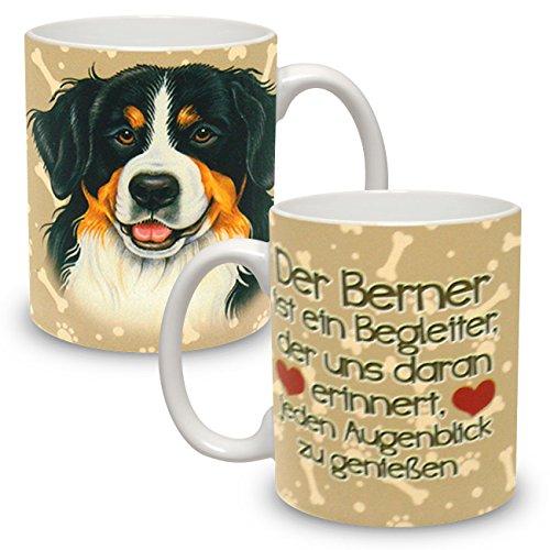 Kaffeebecher mit Motiv Hund Große XXL Tasse Berner Sennenhund Der Berner ist...