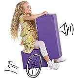 De cine - el juego muebles para niños - Sillón, taburete en lila
