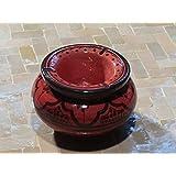 Cendriers marocains de céramique Tableau Orient décoration, Ø 10 cm