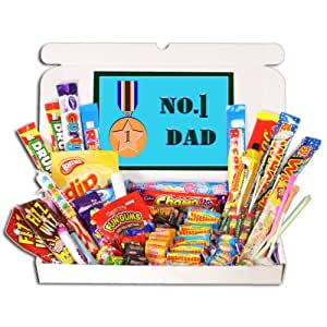 Number 1 Dad Sweets Gift Selection Box