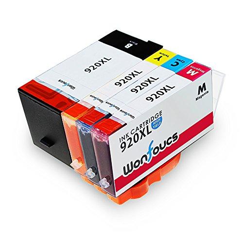 wonfocus-4pack-ersatz-fur-hp-920xl-tintenpatronen-hohe-ausbeute-kompatibel-mit-hp-officejet-6500-600