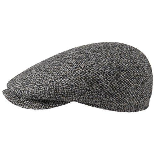 Stetson Harris Tweed Flatcap Schirmmütze Mütze Schiebermütze Ivy Cap Wollcap...