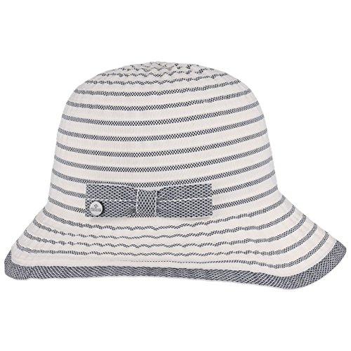 Chapeau Tissu Massima Cloche Lierys chapeau en tissu chapeau d´ete blanc creme