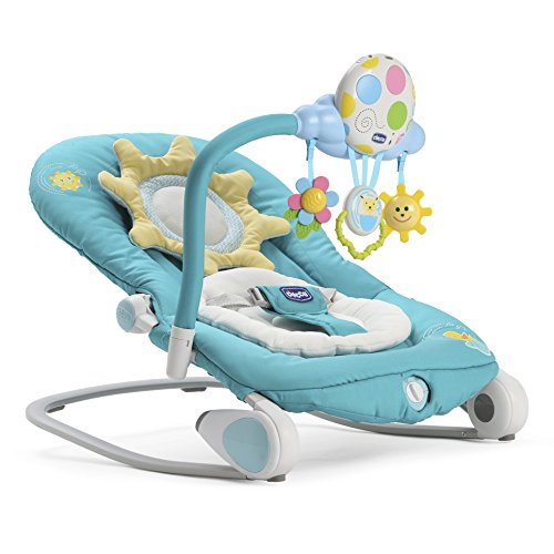 Chicco Balloon Baby Bouncer, Turquoise 51bbMww3G7L