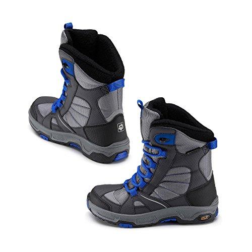 Jack Wolfskin Boys Snow Ride Texapore Gris - Grau/Blau