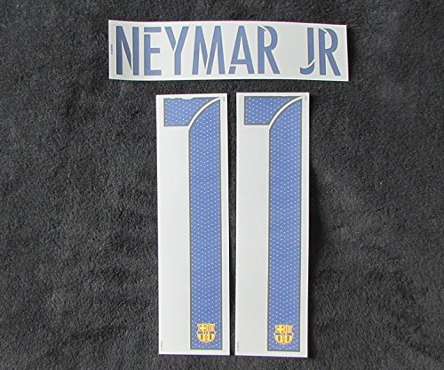 Nike Original 2015-2016 Barcelona FC Neymar JR Flock Away Trikot