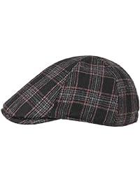 LIPODO Inglese Glencheck Kinder Flatcap Schirmmütze Schiebermütze Wintercap