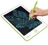 LUHUIYUAN Elektronische Schreibtafel Kinderschreibtisch Schulbedarf Entwurfspapier Büromitarbeiter Verwenden LCD-Schreibtafel (Grün)