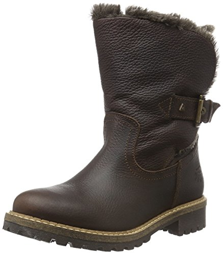 Gaastra Ledro High, Bottes mi-hauteur avec doublure chaude femme Marron - Braun (2200 Dark Brown)