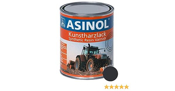 Asinol Komatsu Grau 1 000 Ml Kunstharzlack Farbe Lack 1l Liter Dose Auto