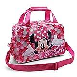 Karactermania Minnie Mouse Bubblegum Bolsa de Deporte Infantil, 38 cm, Rosa