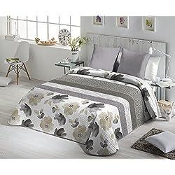 Fundeco - Colcha bouti solai natural cama de 135