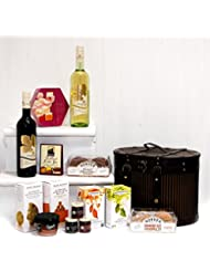 Fine Food Store Treats Hat Box - Christmas Hamper for - Cesta de picnic