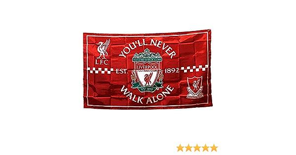 Liverpool /équipe Drapeau n /° 4 Fans Drapeaux Championnat de Football comp/étition banni/ère Ch/âle Drapeau Club Ligue des Accessoires Cheer