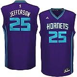 Charlotte Hornets NBA Replica Basketball Jersey - Jefferson #25 - Mens Large
