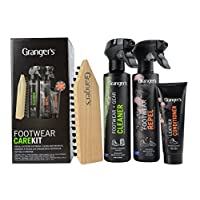 Grangers Footwear Care Kit Bags & Accessories Synthetic Material Shoe Care Assorted