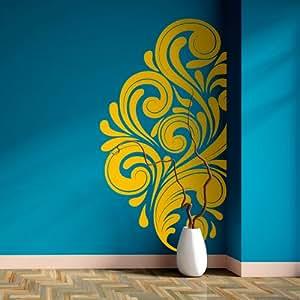 Adesivi Creativi adesivo sticker murale Angoliera maestosa Dimensioni 62 X 115 cm | wall stickers | adesivi da parete | Decorazione murale | decalcomania