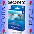 Official Sony PS Vita / PS4 / PS3 / PSP In Ear Fully Immersive Chat Headset with In-Line Microphone & Mute Button - For Gaming, VoIP, Smartphones, Tablets etc by Sony