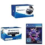 PlayStation VR + PlayStation Kamera für PS4 (2016) + PlayStation VR Worlds