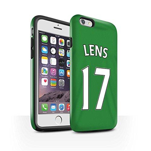Offiziell Sunderland AFC Hülle / Glanz Harten Stoßfest Case für Apple iPhone 6S / M'Vila Muster / SAFC Trikot Away 15/16 Kollektion Lens