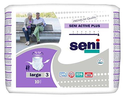 Seni Active Plus - Gr. Large - 80 Stück