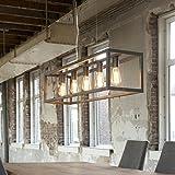 Lámpara de techo lámpara colgante Victory Industrial de comedor de diseño para 5Bombilla...