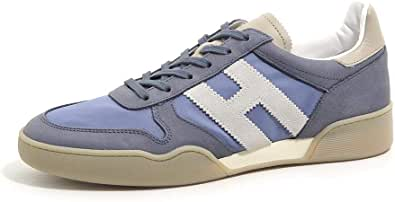 Hogan Sneakers Uomo HXM3570AC40KF86EDL Pelle Blu