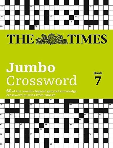 The Times 2 Jumbo Crossword Book 7 by John Grimshaw (2012-08-30)