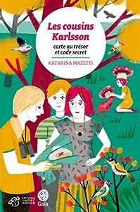 """Afficher """"Les cousins Karlsson<br /> Carte au trésor et code secret"""""""