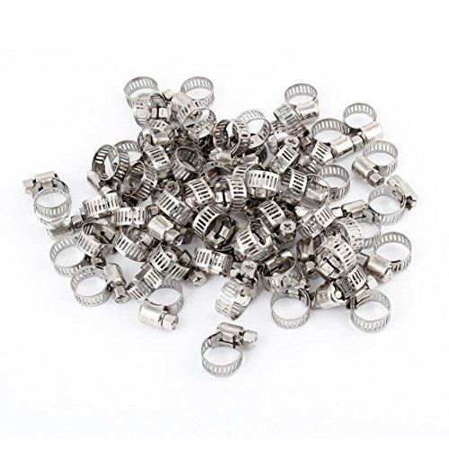 SOURCING MAP 100 piezas 6 66 A 12 mm anillo tornillo