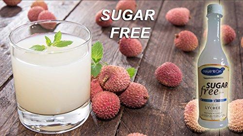Newtrition Plus Lychee - Sugar Free Syrups 500 ml