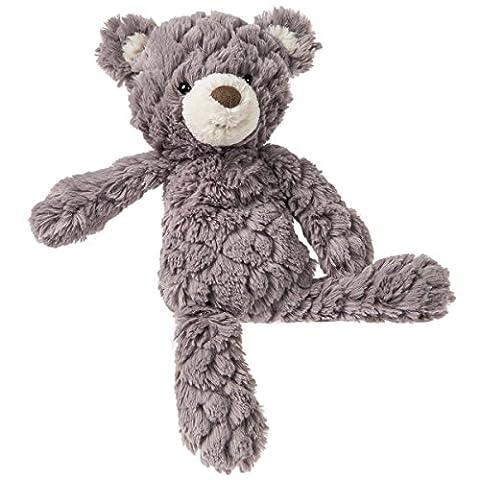 Mary Meyer Putty Teddy Bear Soft Toy (Small, Grey)