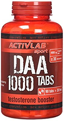 Activlab DAA 1000 Testosterone Boosters - Pack of 120 Tablets from Activlab