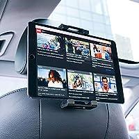 Lamicall Tablet Halterung Auto, Universal Tablet Halterung : KFZ-Kopfstützen Halterung für Pad Air Mini 2 3 4, Pad 2018 Pro 9.7, 10.5, Tab, E-Reader, Smartphone und Tablet mit 4.7~13 Zoll - Schwarz