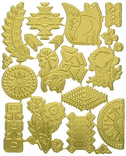 Basic Grey Stanzformen für Scrapbooking Grand Basaar Gold -