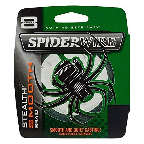 Spiderwire STLTH Angelschnur Ultracast - Stealth Glatt 8 - Moosgrün - 300 M, Transparent, 20lb/0,17mm