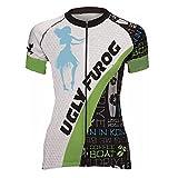 Uglyfrog HNDX02 2018 Neu Damen schlie?en H¨¹lsen Zyklus Jersey Fahrrad Hemd Fahrrad Top Short Sleeve Radsport Kurzarm Radtrikot FahrradTrikot