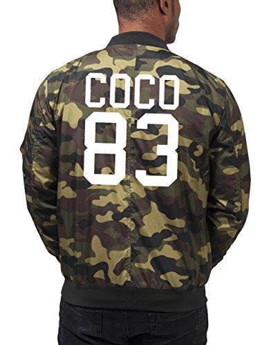 Coco 83 Bomberjacke Camouflage Certified Freak-L