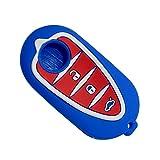 Happyit silicone auto Smart Key case per Alfa mito 159Gto mito Giulietta Romeo 4C gta-m383pulsanti di controllo remoto Blue