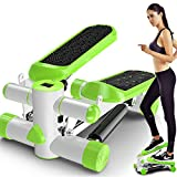 Guowy Mute Thin Multi-Funktion Mini Sport Stepper Fitnessgeräte Home Laufband,Green