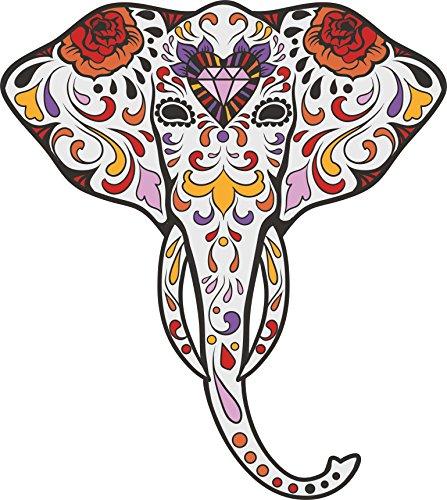 Elefant Candy Skull