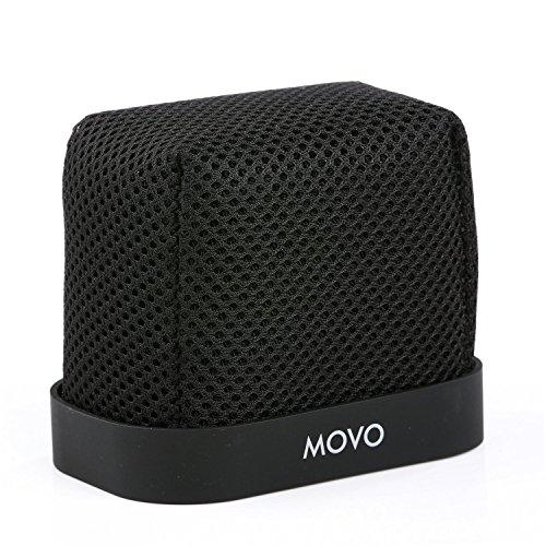Movo WST-R30 montiert Nylon Frontscheibe mit Akustikschaum Technologie für Zoom H4n, H5, H6, Tascam DR-40, DR-100 MKII and Sony PCM-D50 tragbarer digitaler Aufnahmegerät