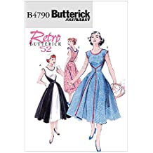 Kleid 50er stil schnittmuster